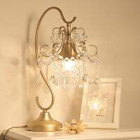 【品牌特惠】欧式台灯客厅卧室书房床头灯现代简约创意美式台灯 按钮开关