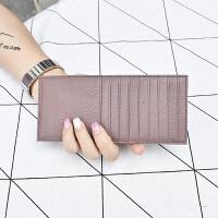 卡包男士卡包女式女士证件位韩国大容量迷你长卡片包