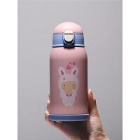 儿童保温水杯带吸管316不锈钢杯子小学生幼儿园男女宝宝水壶