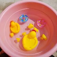 ����洗澡玩具 ��叫的�� 母子�� �胗�和�洗澡小�S���蛩���套�b粉�t小�i