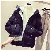 宽松加厚羽绒棉衣女 冬装新款短面包小棉袄流行外套潮