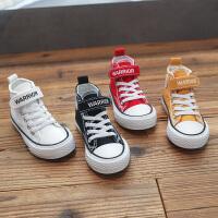【儿童节限时多件多折:59.7元】回力童鞋旗舰店儿童帆布鞋女童2020春新款高帮布鞋男童中大童鞋子