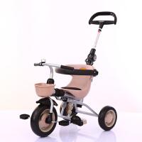 多功能儿童三轮车宝宝手推车1-3岁婴幼儿童脚踏车小孩YW03童