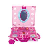 儿童化妆品彩妆盒套装梳妆台玩具手提箱女孩生日礼物创意KLD
