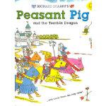 Richard Scarry's Peasant Pig and the Terrible Dragon: With Lowly Worm the Jolly Jester! 斯凯瑞图画故事书-农夫小猪与恶龙:小虫朱莉 杰斯特!(超值精装大开本)ISBN 9781402762956