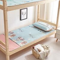【品牌特惠】学生宿舍凉席单人床可折叠上下铺卡通冰丝席0.9m夏季1米席子1.2m