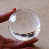 晶贵人白水晶球原石打磨全净体水晶球装饰礼品礼物小球摆件 友情提示:天然水晶球纯手工打磨 大小都会存在0.1