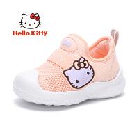 【3折价:89.7元】HelloKitty童鞋女童单网鞋夏季新款小女孩跑步运动鞋宝宝休闲鞋 K0523006