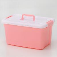 塑料收纳箱有盖整理箱大号衣服玩具置物箱衣柜衣物箱子储物周转箱 小号+中号+大号3件套