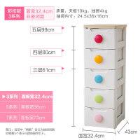 爱丽思IRIS日本儿童抽屉式收纳柜子婴儿储物柜五斗柜塑料宝宝衣柜 3系列 窄型非密闭