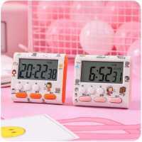少女心计时器提醒器可爱学生电子闹钟时间管理ins简约学习钟