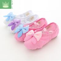 儿童女软底瑜伽猫爪鞋芭蕾舞练功鞋幼儿舞蹈鞋软底鞋