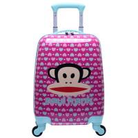 Paul Frank大嘴猴儿童拉杆箱学生男女行李箱16寸万向轮登机旅行箱 PKY2115