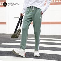 【特】gxg jeans男�b2019秋季新款休�e��松百搭�\�又蓖册���L�