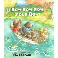 Row Row Row Your Boat 划船歌 英文原版 廖采杏书单 儿歌童谣绘本 英文儿童读物