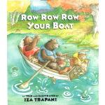 廖彩杏书单英文原版绘本 Row Row Row Your Boat 划船歌 儿歌童谣 英语儿童读物