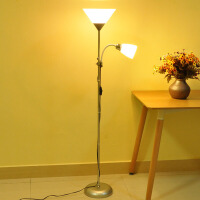 落地灯客厅卧室简约LED现代装饰书房多功能子母立式台灯