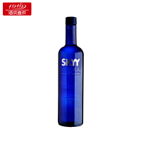 【1919酒类直供】SKYY深蓝牌(原味)伏特加 美国进口洋酒 750ml