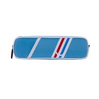 得力(deli) 66702 男女中学生笔袋 大容量创意时尚欧式印花防水文具袋 浅蓝色 当当自营