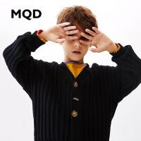 MQD童装男女童毛衣大童开衫外套2019新款春秋装 儿童毛衣外套
