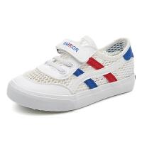 儿童网鞋镂空男童运动鞋女童透气休闲鞋单鞋宝宝鞋子板鞋