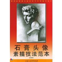 石膏头像素描技法范本――高考素描辅导教材高考素描辅导教材