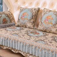 欧式皮沙发垫防滑四季通用布艺客厅123组合沙发套罩巾