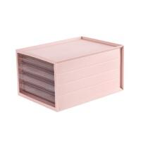 抽屉式多层收纳箱衣物收纳盒塑料透明衣服箱子整理箱储物箱 大号