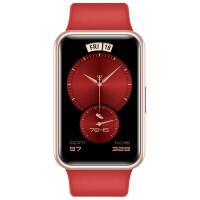 华为手表WATCH FIT 新年款 新年红 华为手表 运动智能手表方形 智能手表 运动手表 快速充电