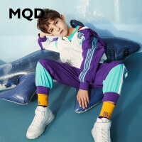 MQD童装男童套装20春秋新款拉链开衫中大童两件套儿童运动套装潮