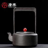 唐丰铁壶礼盒装铸铁烧水壶家用电热煮水壶复古老铁壶简约
