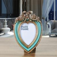 欧式复古相框摆台创意婚纱照相片架5寸6寸7寸像框组合装饰品摆件