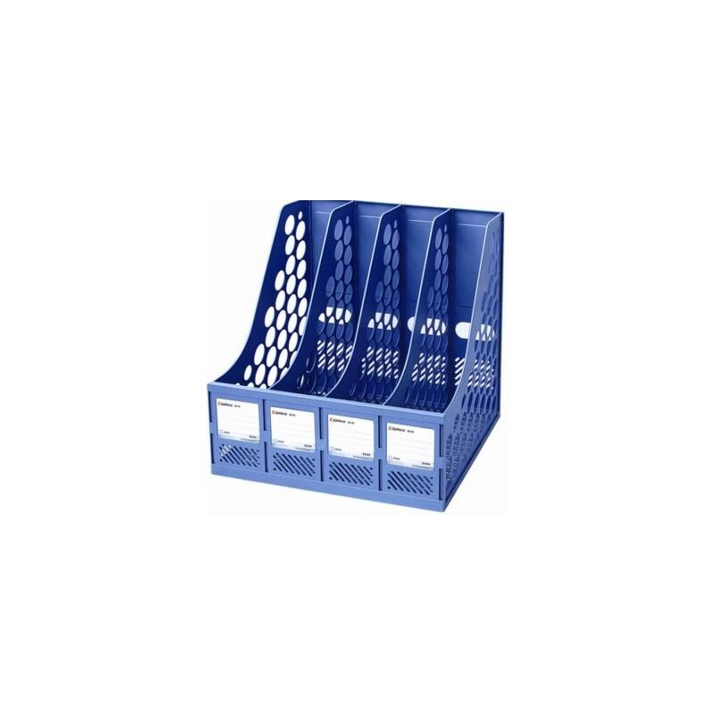 四格书架 齐心(Comix) B2174 经济型资料架 (组装式、四格) 专业办公 齐心品质