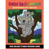 【预订】Education Books for 2 Year Olds (Color By Number - Anim