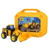[当当自营]CAT 卡特 建筑拼装系列 轮式载重机(大号收纳装)80933