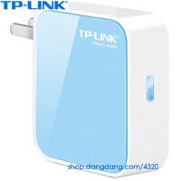 TP-link TL-WR800N 300M迷你型无线路由器11N技术,便携无线路由器,轻巧便携免设置(无线AP/路由