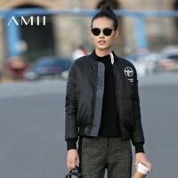 【已售罄】AMII[极简主义]秋冬女装立领修身大码加厚外套羽绒服11632610