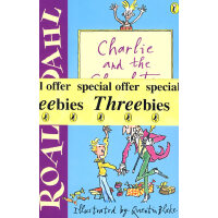 罗德达尔作品集3 (全三册):查理和巧克力工厂 Dahl Day Threebies Pack