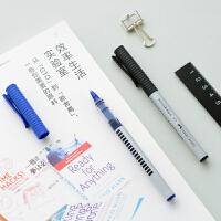 Faber-castell辉柏嘉2493中性笔 签字笔 0.5mm水笔3色选 顺滑好写3支装