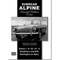 预订Sunbeam Alpine Limited Edition Extra 1959-1968
