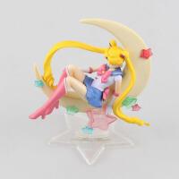 美少女战士 水冰月 月野兔 倩尼迪 模型摆件礼物玩具