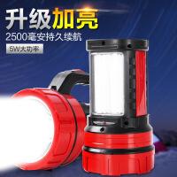 LED探照灯LED强光户外充电手提灯远射应急巡逻手电筒防爆灯矿灯7bj