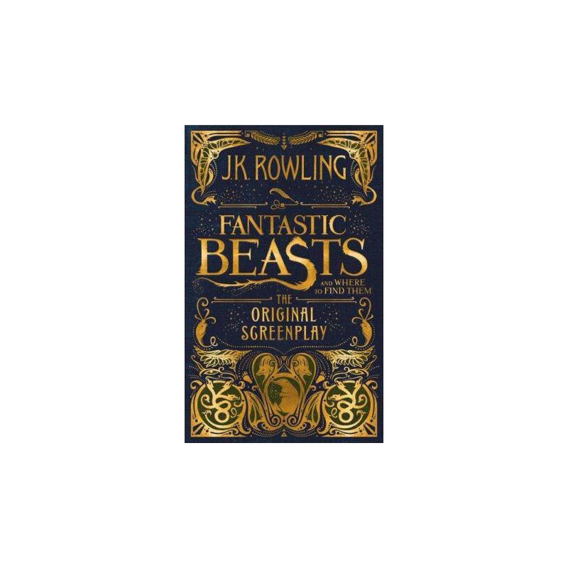 神奇动物在哪里Fantastic Beasts and Where to Find Them: The Original Screenplay ISBN9781338109061