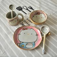 陶瓷餐具套装创意儿童女生礼物碗盘杯家用