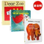 英文原版绘本Dear Zoo亲爱的动物园 Brown Bear What Do You See 棕色的熊 Five L