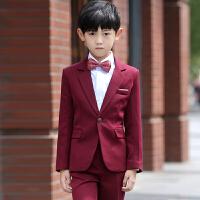 男童小西服宝宝西装花童礼服男演出服儿童西装套装秋冬童装礼服
