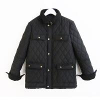 小个子百搭黑色小棉衣新款韩版潮流女冬短款夹克外套 黑色