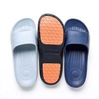 拖鞋男夏季一字拖鞋老人凉拖鞋室内室外居家浴室洗澡沙滩凉拖