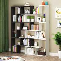 书架书柜简约落地置物架客厅储物卧室收纳柜学生家用创意转角书架