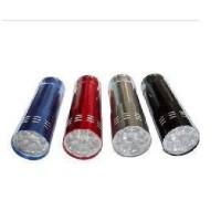 高亮铝合金9LED手电筒[加3个7号电池]/9灯LED电筒礼品LOG0